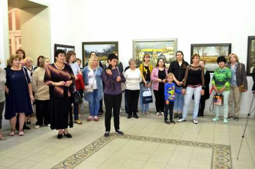 Открытие выставки К.Качана