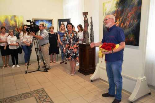 Открытие выставки А.Концуба