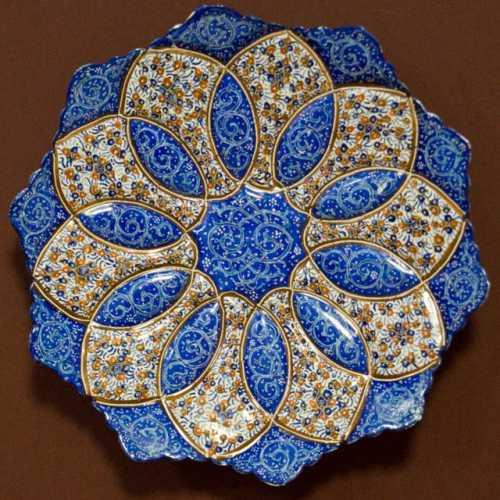 Декоративная тарелка. Начало XXI в., Иран