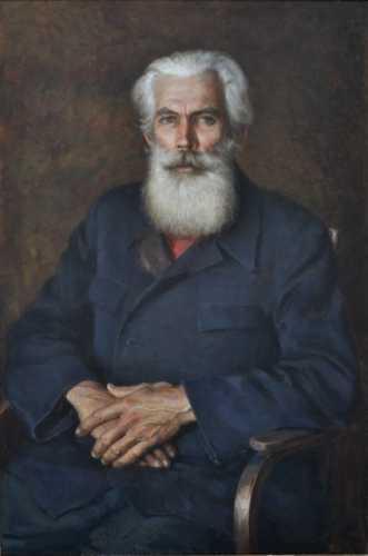 """Шалаев А.В. """"Старый мастер"""", 1988 г."""