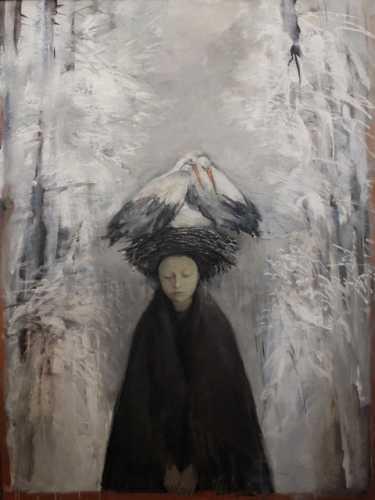 """Пискун Ю.А """"Зімовы сон"""", 1996 г."""