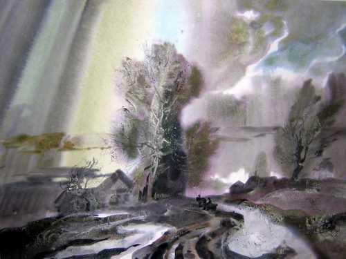 """Киселёв Ф.С. """"Весна в Староселье"""", 1989 г."""